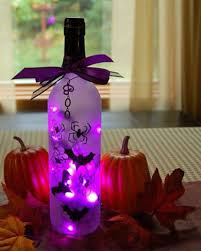 wine bottle halloween 50 best indoor halloween decoration ideas for 2017