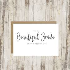 to my on our wedding day card to my beautiful on our wedding day card wedding