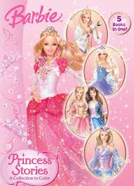 princess stories collection color barbie golden books