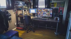 My Gaming Pc Setup Tour Youtube by Top Battlestations Reddit 4k Pc And Wiiu Gaming Battlestation On