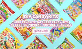 Where To Buy Japanese Candy Kits Japanese Candy Diy Kits Snacks U0026 More Free International
