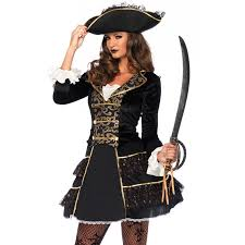 pirate halloween costume kids high seas pirate captain costume for women halloween costumes