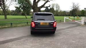 land rover rear range rover sport glohh gl 3 dynamic rear lights comparison in
