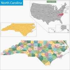 map of carolina historical city county and state maps of carolina