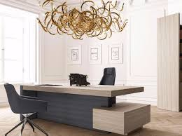 Office Table Design Rectangular Office Desk With Drawers With Shelves Jera Office