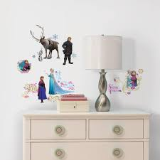mickey mouse giant wall decal with augmented reality frozen wall decals all characters number of decals included