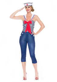 halloween sailor costume women u0027s come sail away costume
