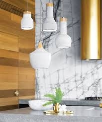 Beacon Lighting Pendant Lights 1 Light Drop Pendant In Ash Concrete