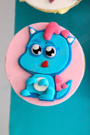 celebrate with cake moshi monster cupcakes