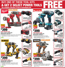 black friday sales at lowes and home depot home depot black friday 2016 tool deals