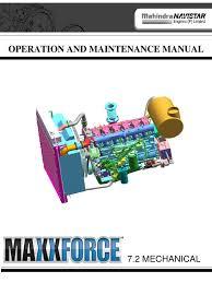 navistar o u0026 m manual internal combustion engine turbocharger
