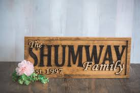 wedding plaques personalized buy a handmade personalized family name sign wedding gift custom