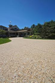Exposed Aggregate Patio Stones Driveways By Triad U2013 Pavers Exposed Aggregate Concrete Triad