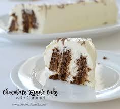 chocolate ripple cake with caramel create bake make