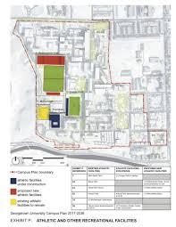 georgetown university u0027s revised 20 year campus plan revealed
