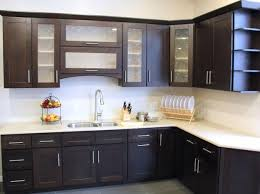 Modern Wooden Kitchen Designs Dark by New Kitchen Doors Kitchen Cupboard Door Designs Dark Brown Cherry
