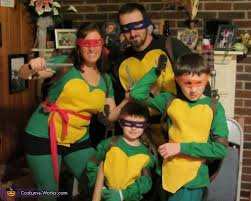 Teenage Mutant Ninja Turtles Halloween Costumes Girls Teenage Mutant Ninja Turtles Family Costume Idea