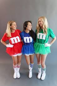 m m costume gather a of friends the more the merrier and