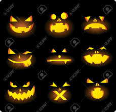 cartoon haloween pictures pumpkin face stock photos royalty free pumpkin face images and