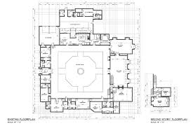 hacienda house plans family compound floor plans thefloors co