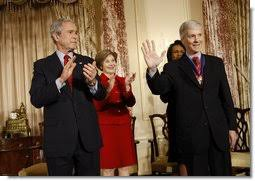 Christine Barnes President Bush Commemorates Foreign Policy Achievements And