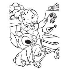 75 lilo stitch coloring pages free coloring