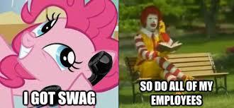Ronald Mcdonald Meme - 285707 exploitable meme image macro mcdonalds mcdonalds swag