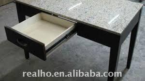 Granite Computer Desk Chamberlain Black Granite Top Writing Desk Transitional Desks With