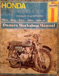 honda cb 125 160 175 u0026 200 and cd 125 twins haynes manual