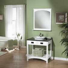 Bathroom Vanities Country Style Bathroom Country Style White Wooden Bathroom Vanity With Green
