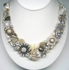 gold vintage statement necklace images 57 best wedding statement necklace images bridal jpg