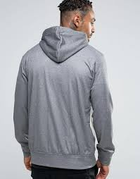 nicce london lux zip up hood softtouch sweat grey men hoodie nicce