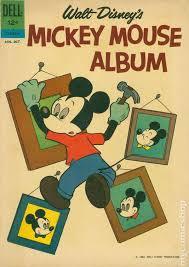 mickey mouse photo album mickey mouse album 1962 dell comic books