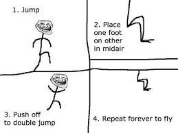 Troll Physics Meme - funny troll rage comic troll physics penumbraespree