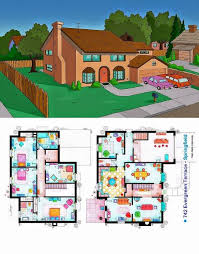 simpsons house floor plan ever wondered about the floor plan of the simpsons house check it
