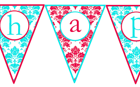 colors printable happy birthday banner letters as well as free