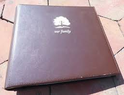 200 photo album 4x6 new sixtrees photo album 4x6 200 brown embossed leatherette