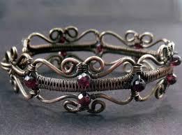 wire jewelry bracelet images 308 best wire wrap bracelets images wire jpg