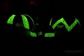 Halloween Glow Jars by Pick Your Pumpkin Decorative Halloween Painted Pumpkins