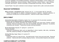 College Job Resume by Homely Design Resumes For College Students 3 College Student