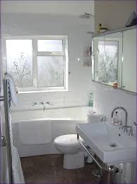 bathroom white subway tile shower with accent subway tile shower
