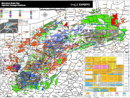 Permian Basin Map Marcellus Shale Map Acreage Map Company Map