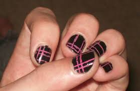 pink and black nail designs 10 hd wallpaper hdblackwallpaper com