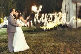 Sparklers For Weddings Get The Perfect Light Writing Sparkler Shot Borrowlenses Blog