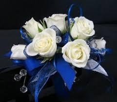 White Rose Wrist Corsage Memorial City Florist Teleflora Florist Houston Flower