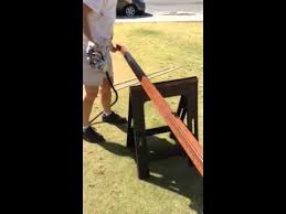 Restaining Banister Banister Staining Youtube
