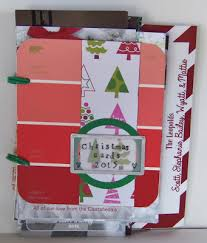 bind your christmas cards to make a nice memory live love scrap