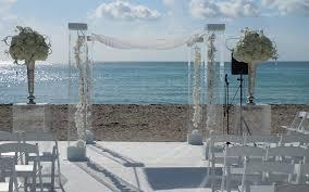 Wedding Chuppah Rental Chuppah Rental Miami One Bal Harbour Acrylic Wedding Canopy Www