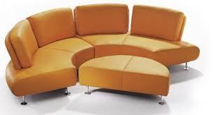 round sofa le tigre round leather sofa by w schillig