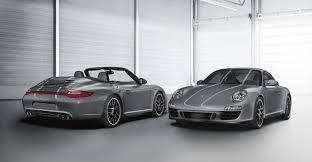 Porsche New Models 911 Carrera 4 Gts Coupé And Cabriolet
